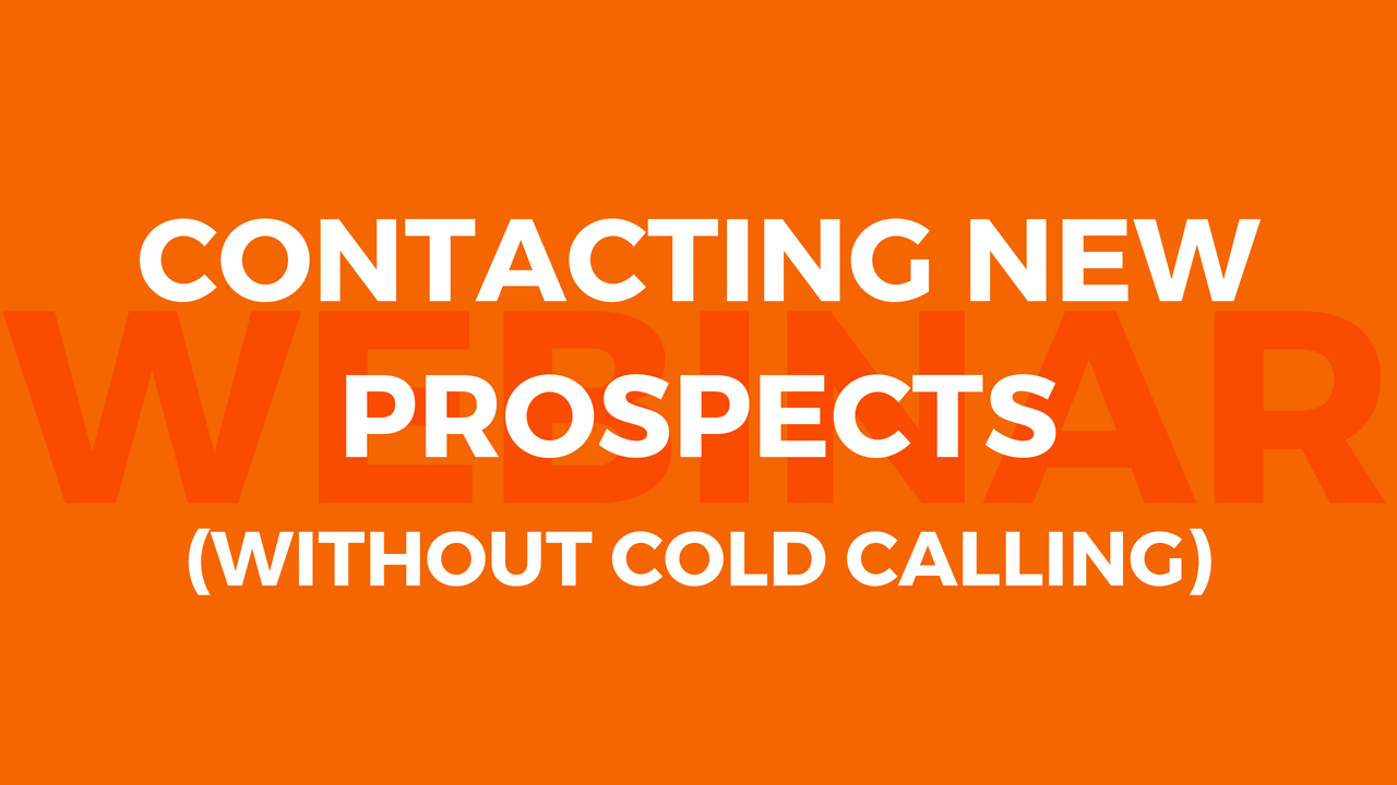 Flair prospecting strategies for recruiters and others looking to contact new prospects more reliably and predictably than with cold calling