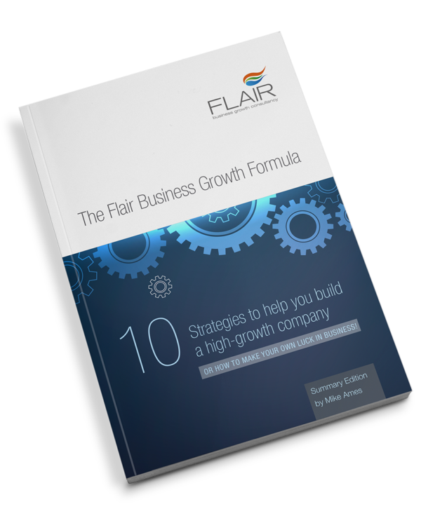 Summary of the 10 strategies in flair business growth formula